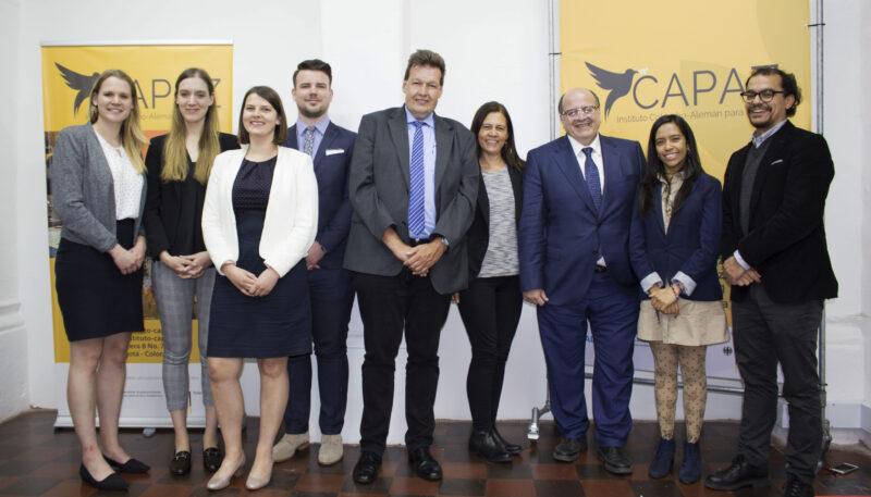 Visita delegación Universidad de Göttingen al Instituto CAPAZ junto con Prof. José Martínez
