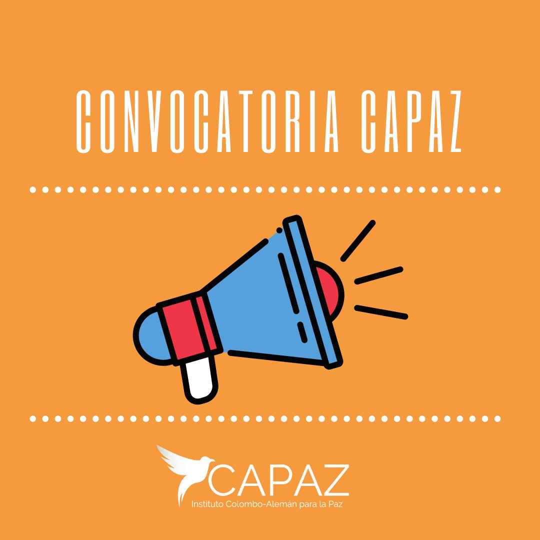 El instituto CAPAZ abre convocatorias de proyectos, publicaciones y laborales.