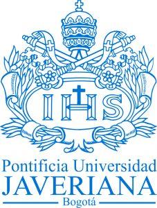 Logo de la Pontificia Univerisidad Javeriana en Bogotá socia fundadora de CAPAZ.