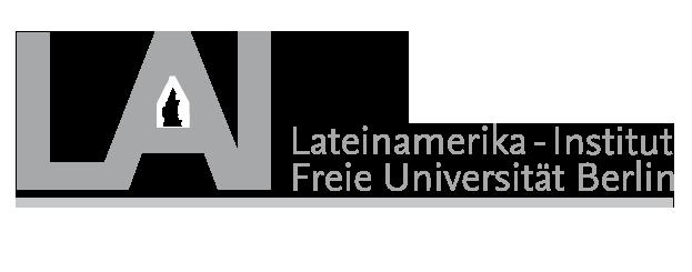 Logo del Instituto de Estudios Latinoamericanos de la Universidad Libre de Berlin, socia fundadora de CAPAZ.