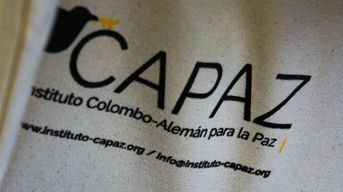 CAPAZ tiene sede en Bogotá pero trabaja en cooperación con universidades en Colombia y Alemania.