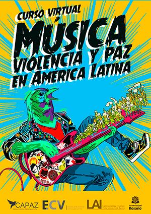 Afiche Curso Virtual_Musica_Violencia y Paz