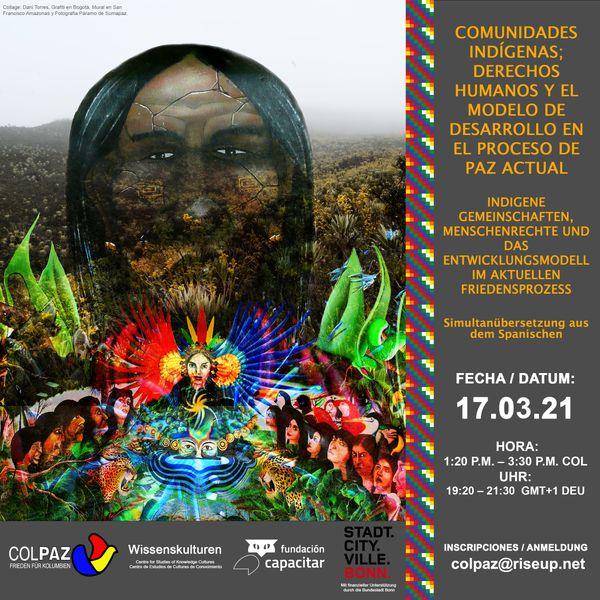 Indígenas, derechos humanos y paz en Colombia - Evento Colpaz