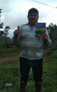 El participante es excombatiente FARC-EP y uno de los estudiantes del curso online ofrecido por la Universidad del Rosario en la escuela de cursos virtuales CAPAZ ECV 2020-2021