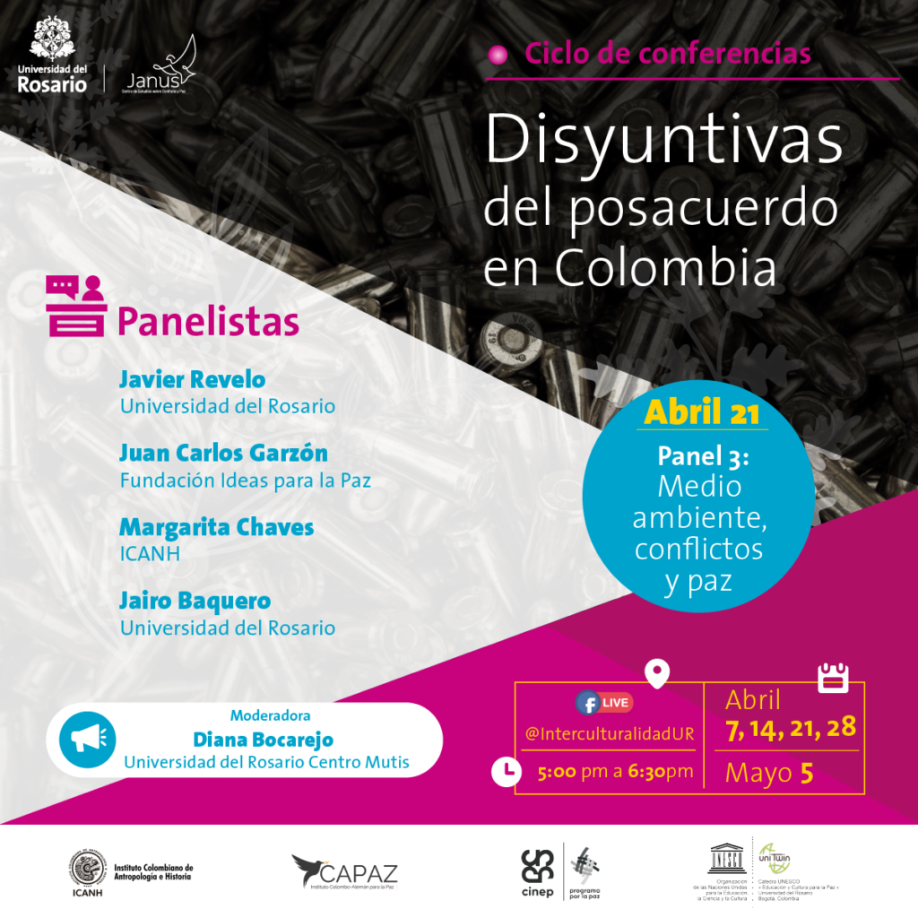 El ciclo de conferencias es organizado por el grupo Janus con apoyo del Instituto CAPAZ y se desarrollará entre abril y mayo de 2021.
