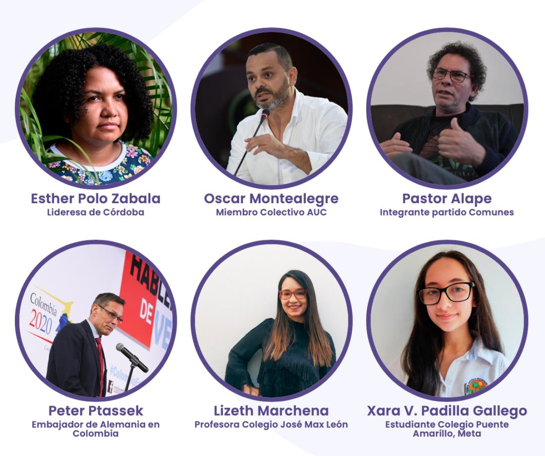 HAblemos de Verdad en los colegios son encuentros organizados por El Espectador Colombia2020, con apoyo de la embajada alemana y el Instituto CAPAZ.