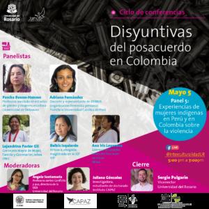 el evento da cierre al ciclo disyuntivas del posacuerdo en Colombia organizado por JANUS con apoyo del Instituto CAPAZ.