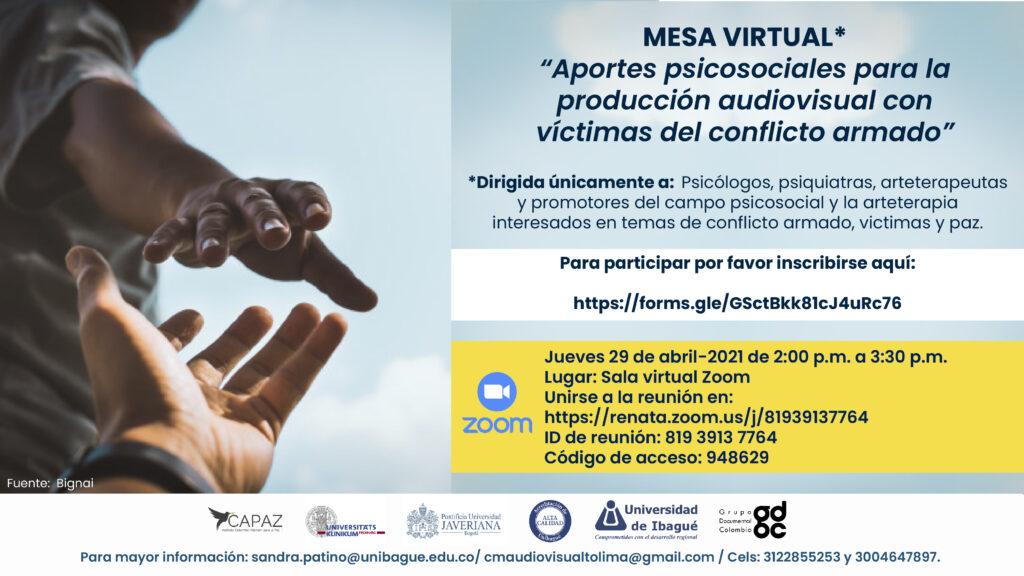 El evento hace parte del proyecto apoyado por CAPAZ y liderado por la Universidad de Ibagué