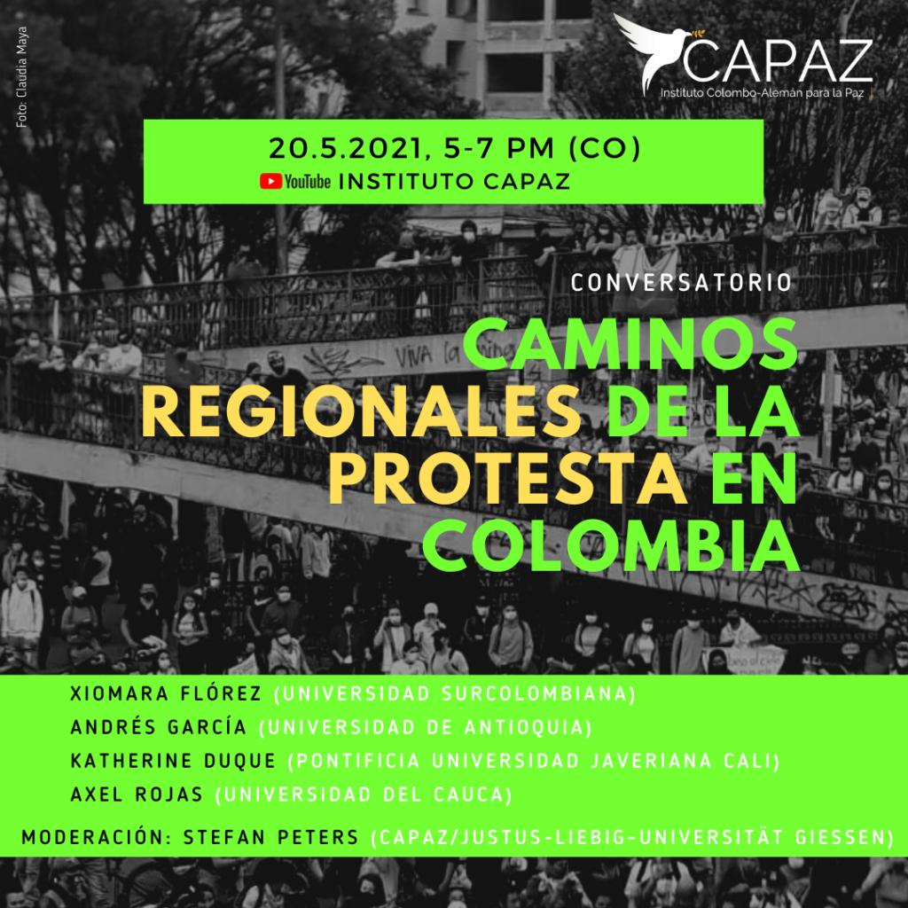 El Instituto CAPAZ tiene presencia en diferentes regiones de Colombia gracias a la participación de sus miembros asociados.