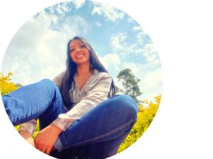 Lina Franco fue una de las practicantes en 2021 en el Instituto CAPAZ.