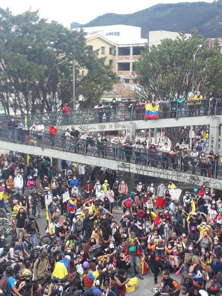 Colombia vive desde el 28 de abril de 2021 protestas sociales en diversas ciudades y zonas del país.