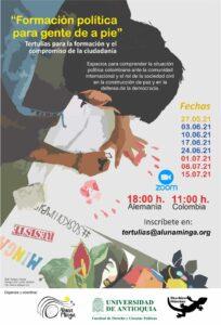 Estas tertulias son apoyadas por la Universidad de Antioquia, asociada al Instituto CAPAZ.