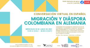 El Nodo Alemania apoya a la Comisión de la Verdad de Colombia en ese país y recibe apoyo del Instituto CAPAZ.
