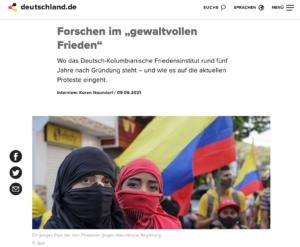 Deutschlan.de es una plataforma multimedial y en diferentes idiomas sobre la actualidad alemana.