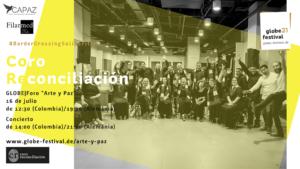 El Coro Reconciliación es un Proyecto social de la Orquesta Filarmónica de Medellín.